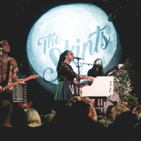 after 4 years away the skints sell out Bristol's trinity centre